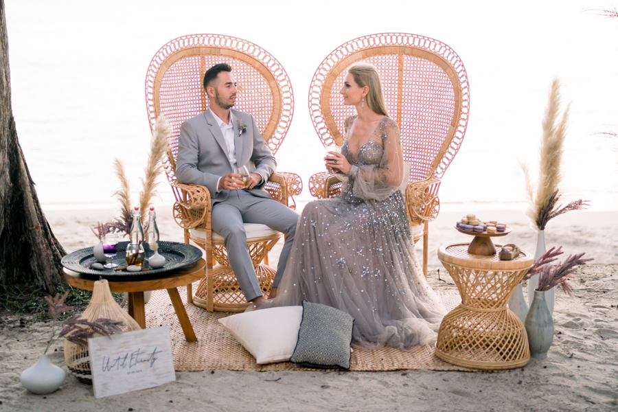 INSPIRATION - 'Until Eternity' in Thailand: A Beach Elopement at the Twinpalms Montazure Resort, Phuket, Captured by Madiow Photography