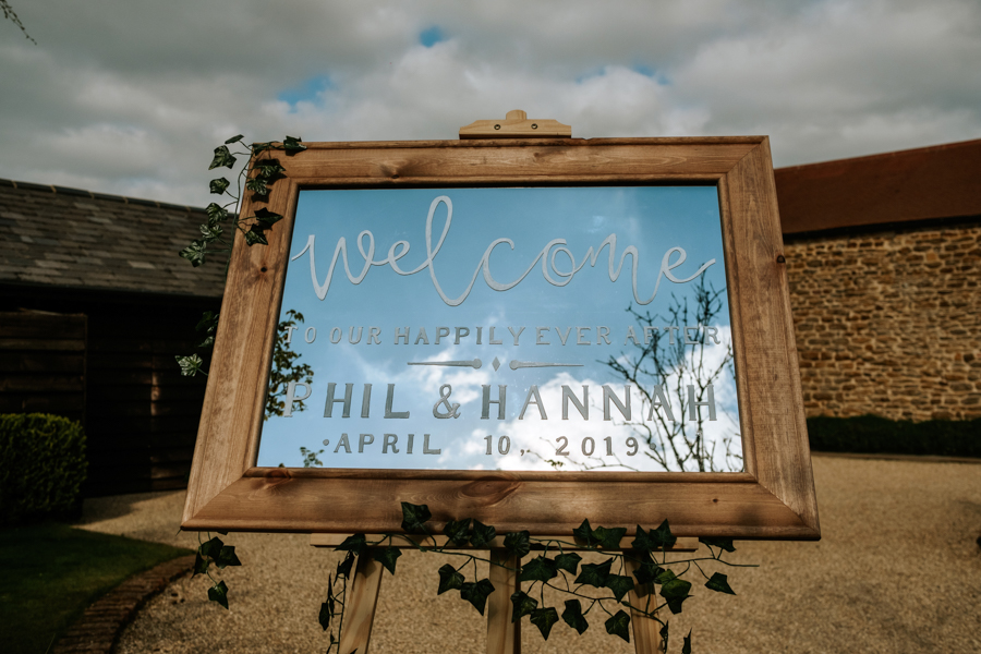 REAL WEDDING - The Simply Beautiful Spring Wedding of Hannah and Phil at Dodford Manor, Captured By GREEN UNION Partner, Ed Brown Photography - welcome