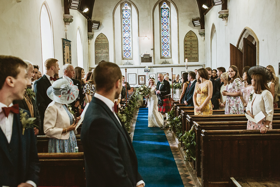 Real Wedding - the Ceremony Captured by GREEN UNION Partner Benni Carol At The Remenham Club