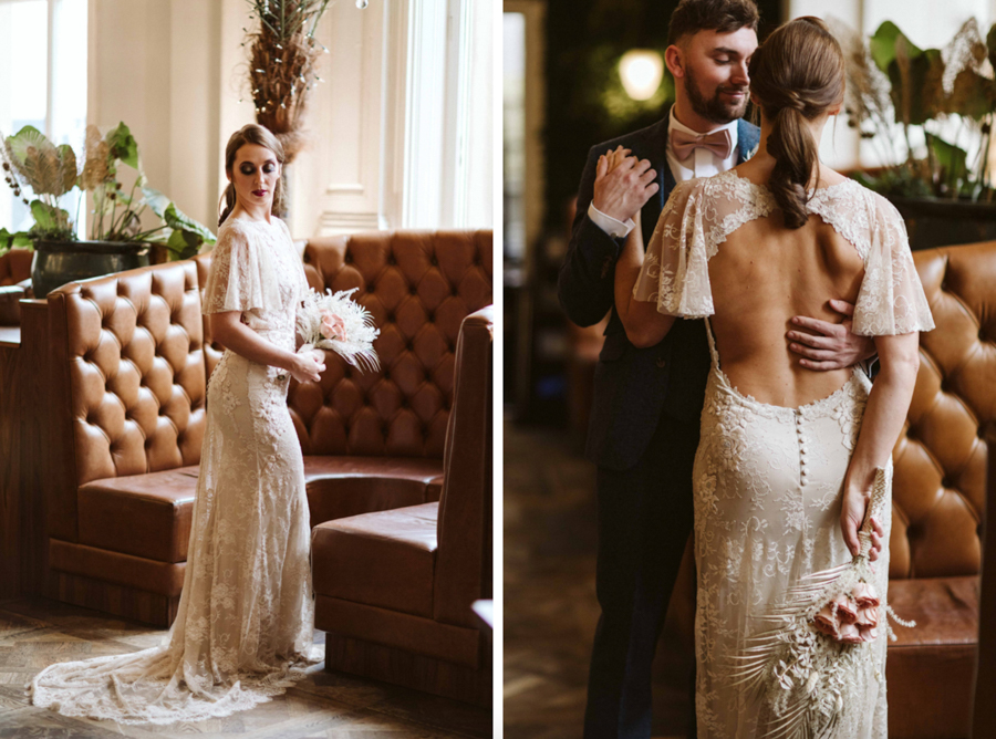 Bringing the 1920s into 2020: A Stylishly Sustainable Homage to a Golden Era Co-Ordinated by Bridal Reloved Wakefield, Captured by Freya Raby Photography at Qubana