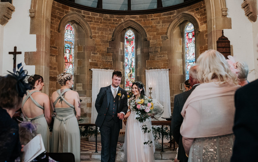 REAL WEDDING - Emily and Ashley's Rustic DIY Leicestershire Wedding, Captured by Jenny Appleton Photography - just married