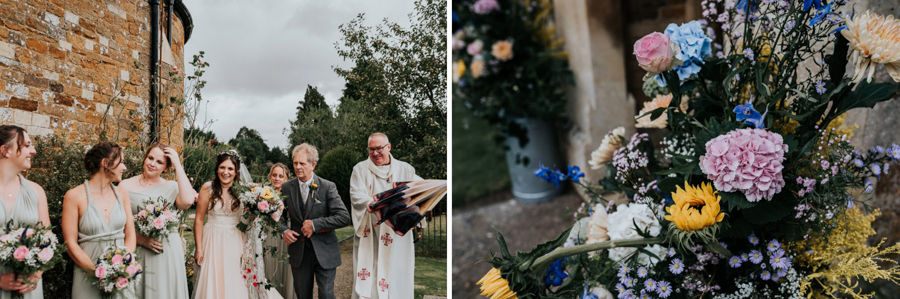 REAL WEDDING - Emily and Ashley's Rustic DIY Leicestershire Wedding, Captured by Jenny Appleton Photography - flowers