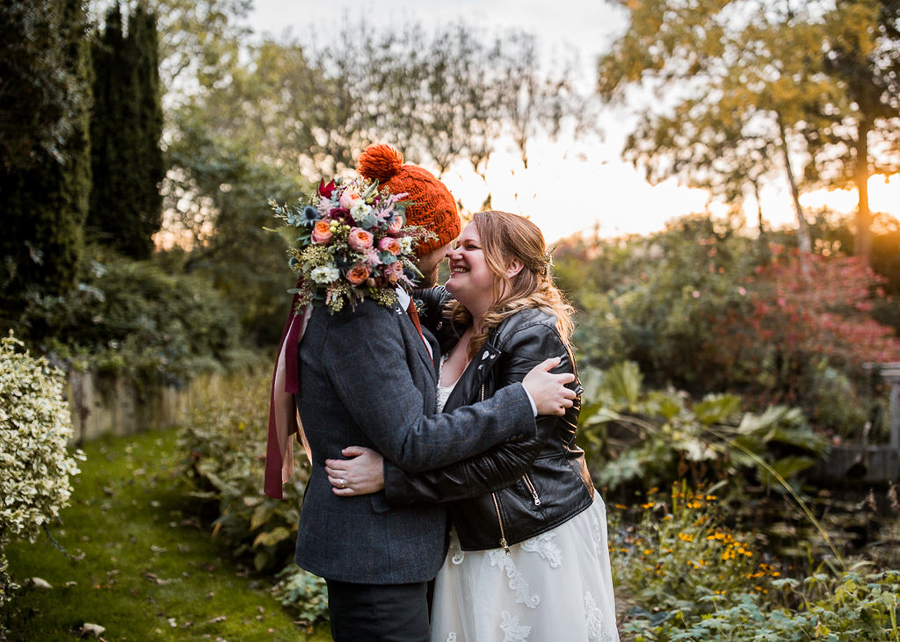 REAL WEDDING - The Autumnal Wedding of Marta & Daniel at South Farm, captured by AD Photography