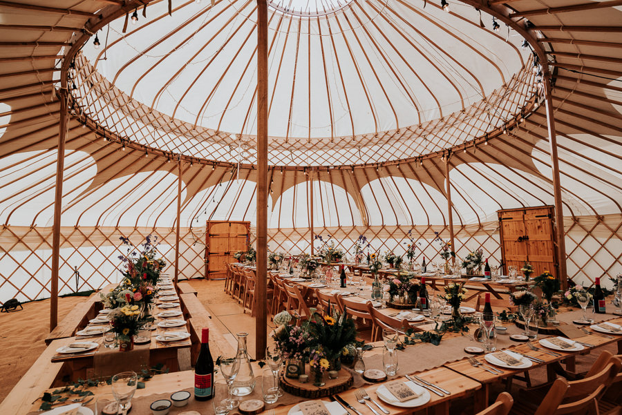 REAL WEDDING - Emily and Ashley's Rustic DIY Leicestershire Wedding, Captured by Jenny Appleton Photography - Funky Monkey Tents