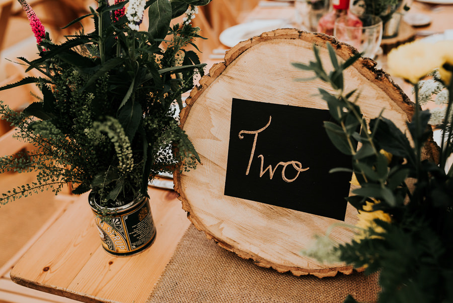 REAL WEDDING - Emily and Ashley's Rustic DIY Leicestershire Wedding, Captured by Jenny Appleton Photography - up cycled flowers vases