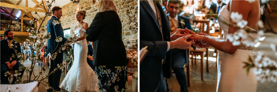REAL WEDDING - The Simply Beautiful Spring Wedding of Hannah and Phil at Dodford Manor, Captured By GREEN UNION Partner, Ed Brown Photography - rings