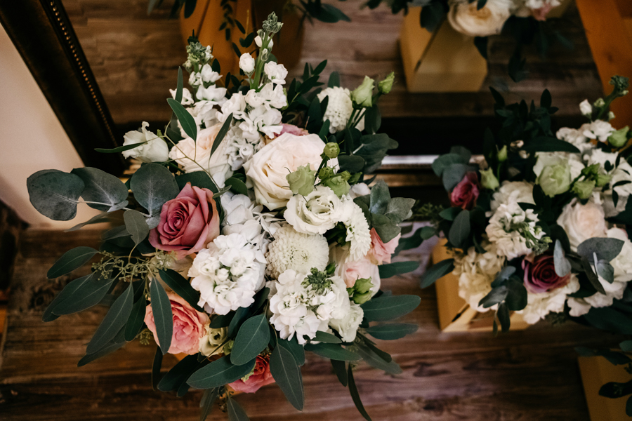 Bridal Bouquet, Mythe Barn Wedding, Ed Brown Photography