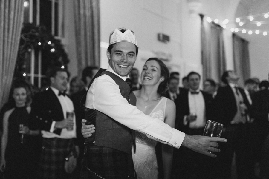 Winter Wedding at Royal Botanic Gardens Edinburgh by Deborah Schenck Photography