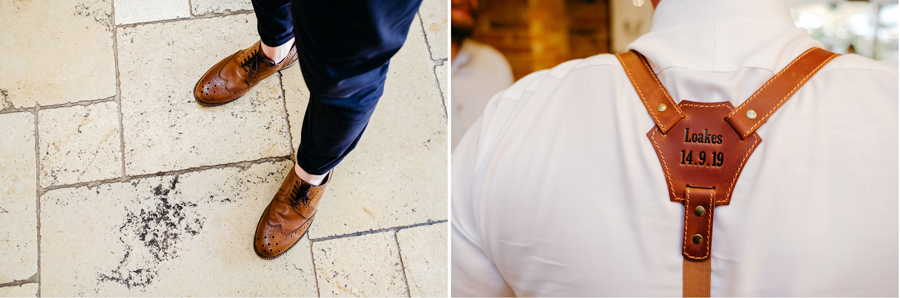 The Groom's Attire, Mythe Barn Wedding, Ed Brown Photography