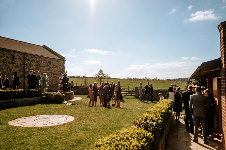 REAL WEDDING - The Simply Beautiful Spring Wedding of Hannah and Phil at Dodford Manor, Captured By GREEN UNION Partner, Ed Brown Photography - drinks