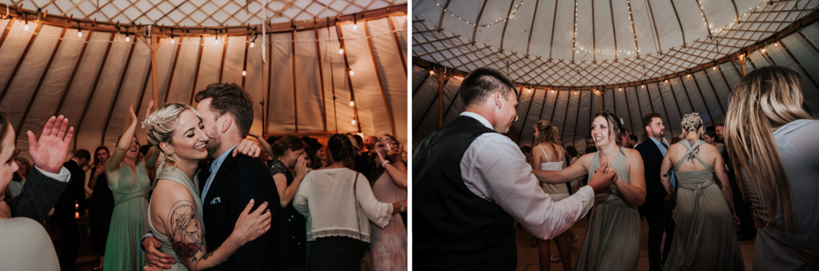 REAL WEDDING - Emily and Ashley's Rustic DIY Leicestershire Wedding, Captured by Jenny Appleton Photography - dancing