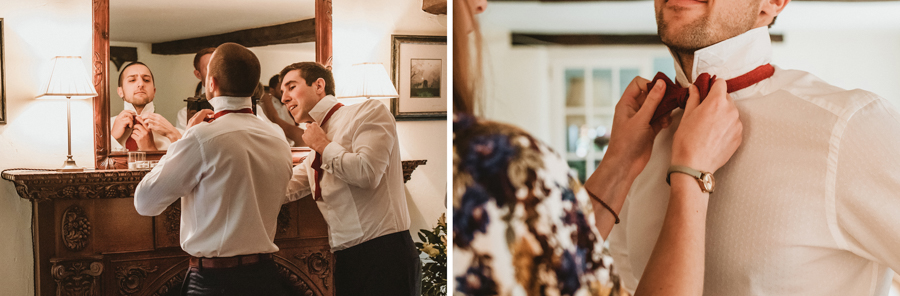Real Wedding - Groom and Groomsment Captured by GREEN UNION Partner Benni Carol At The Remenham Club
