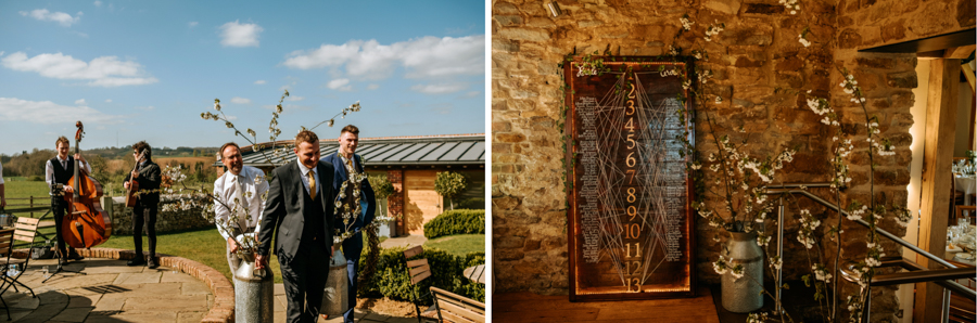 REAL WEDDING - The Simply Beautiful Spring Wedding of Hannah and Phil at Dodford Manor, Captured By GREEN UNION Partner, Ed Brown Photography - seating plan