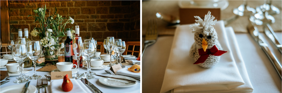 REAL WEDDING - The Simply Beautiful Spring Wedding of Hannah and Phil at Dodford Manor, Captured By GREEN UNION Partner, Ed Brown Photography - wedding favours