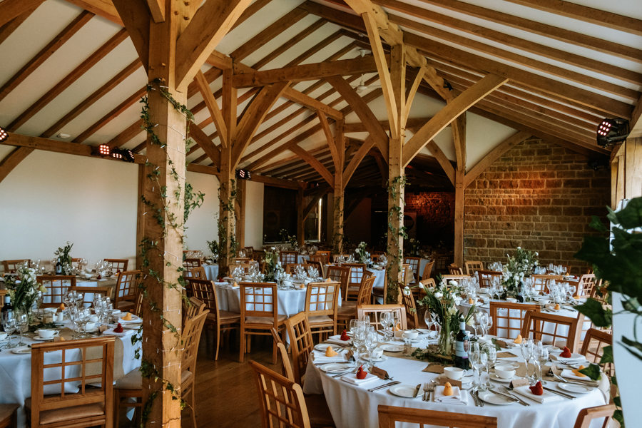 REAL WEDDING - The Simply Beautiful Spring Wedding of Hannah and Phil at Dodford Manor, Captured By GREEN UNION Partner, Ed Brown Photography - wedding breakfast