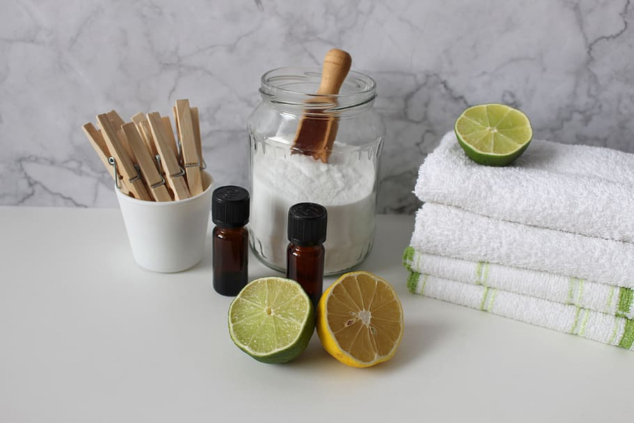 SUSTAINABLE LIVING - How to Make Your Home Eco-Friendly - green cleaning products
