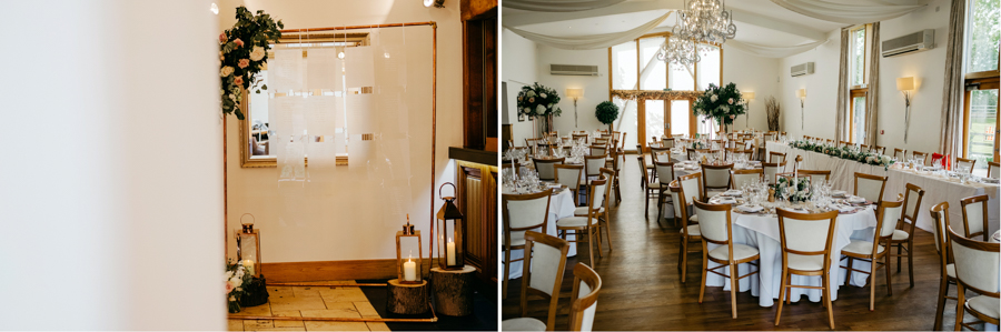 The Wedding Breakfast, Mythe Barn Wedding, Ed Brown Photography
