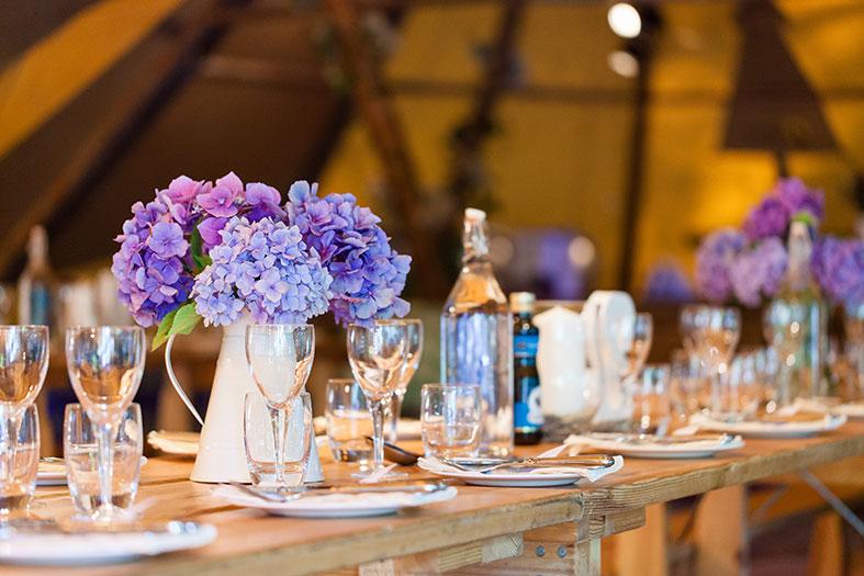 Real Woodland Weddings: A Truly Magical Woodland Tipi Wedding