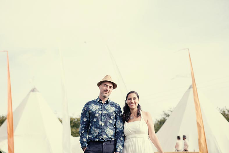 REAL WEDDINGS: A Truly Eco Friendly Wedding in Wales
