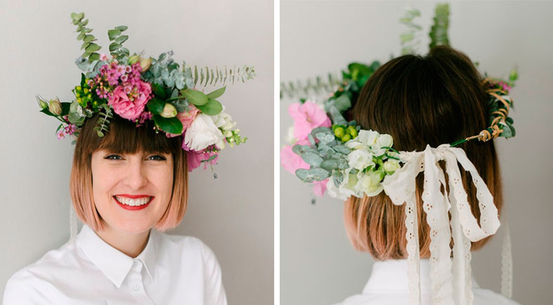SEASONAL INSPIRATION: Create a DIY flower crown for British Flowers Week