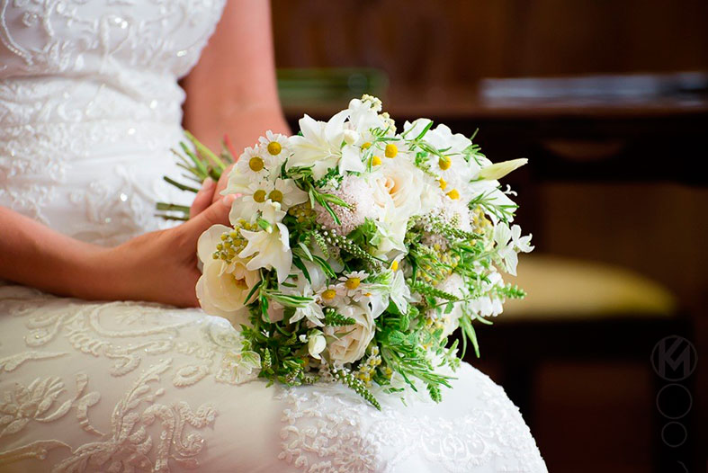 Bridal bouquet by Organic Blooms