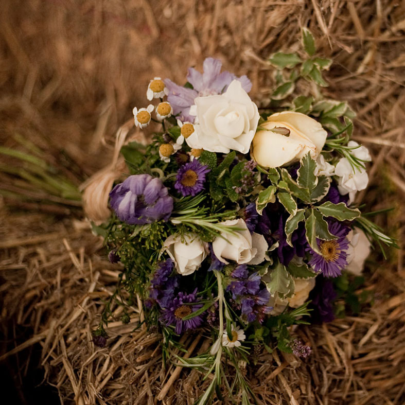 We sourced locally, including British flowers from Organic Blooms