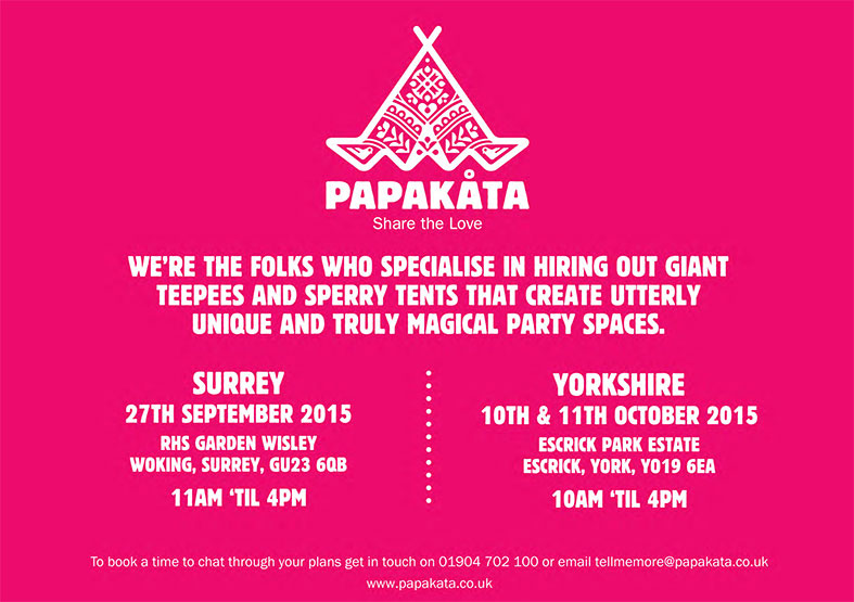 PapaKata Autumn Open Days in the South and North of England
