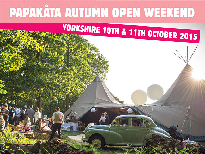 PapaKata Open Weekend 10th and 11th October, Escrick Park, Yorkshire