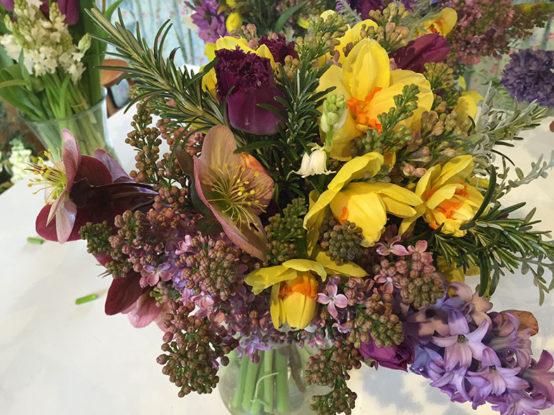 Bold Bohemian colours from Bouquets and Butterflies