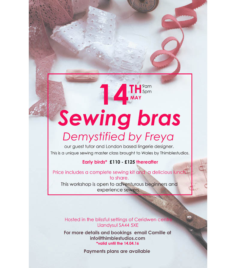 Bra Making Masterclass: A Unique Hen Weekend at Welsh Green Weddings HQ in Wales