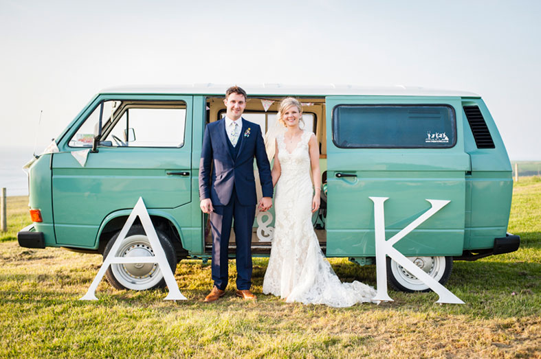 REAL WEDDINGS | A fabulous Welsh Farm DIY Wedding for Childhood Sweethearts | Kirsty and Adrian