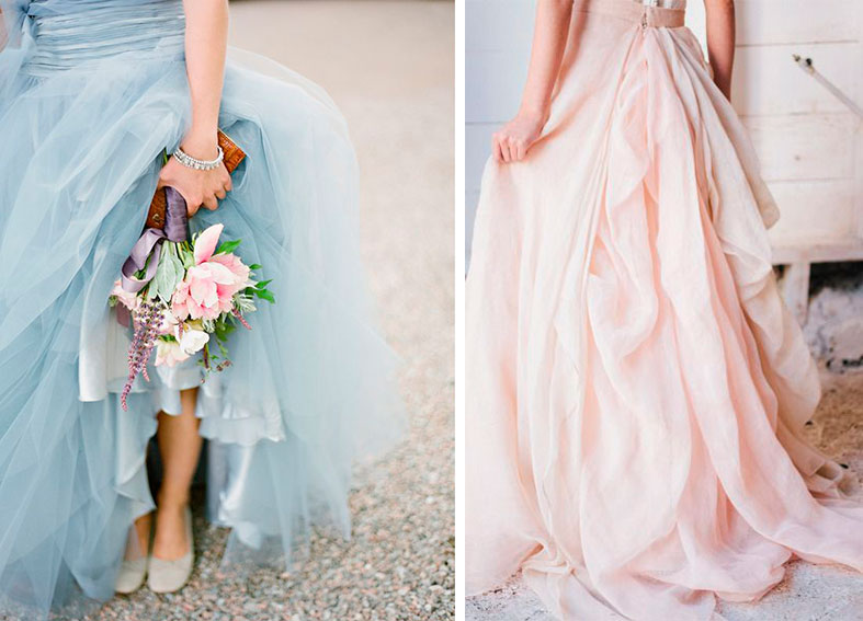 INSPIRATION: Top 10 wedding colours for 2016