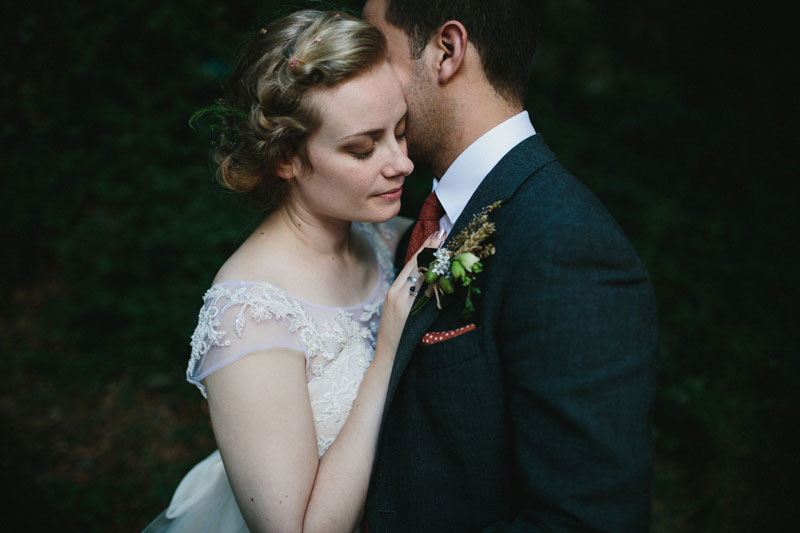 REAL WEDDINGS: A naturally balanced fairytale woodland wedding in Wales: Natasha and Matt
