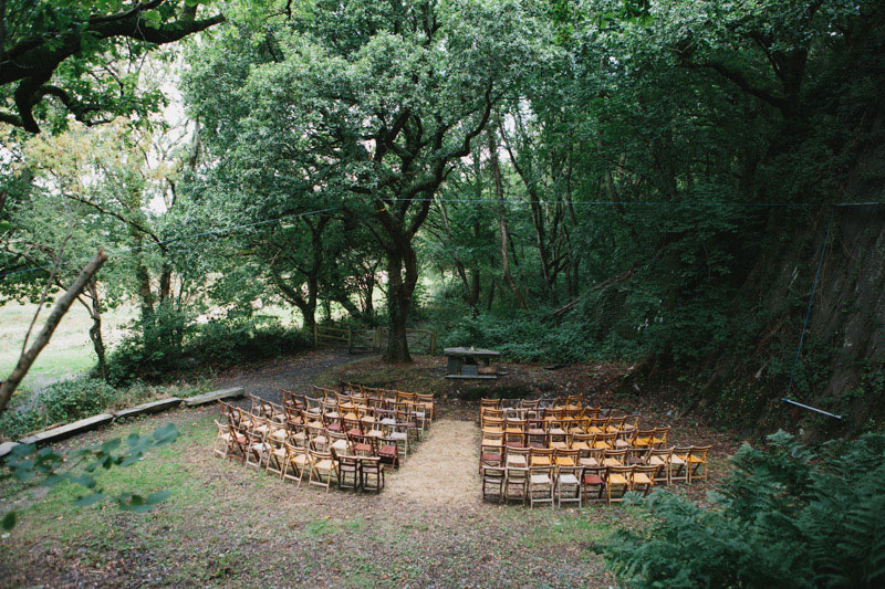 Natural wedding arena