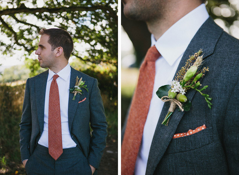 Matt wore a bespoke hand made suite