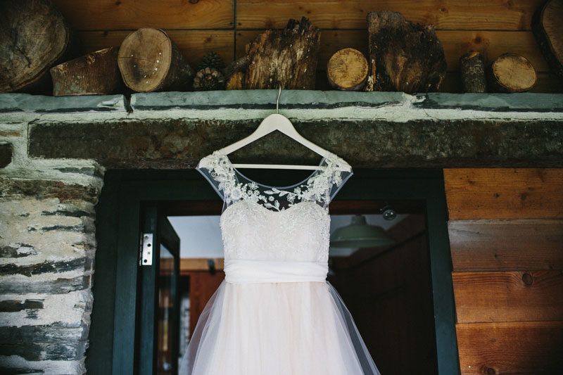 My custom designed hand made tulle wedding dress