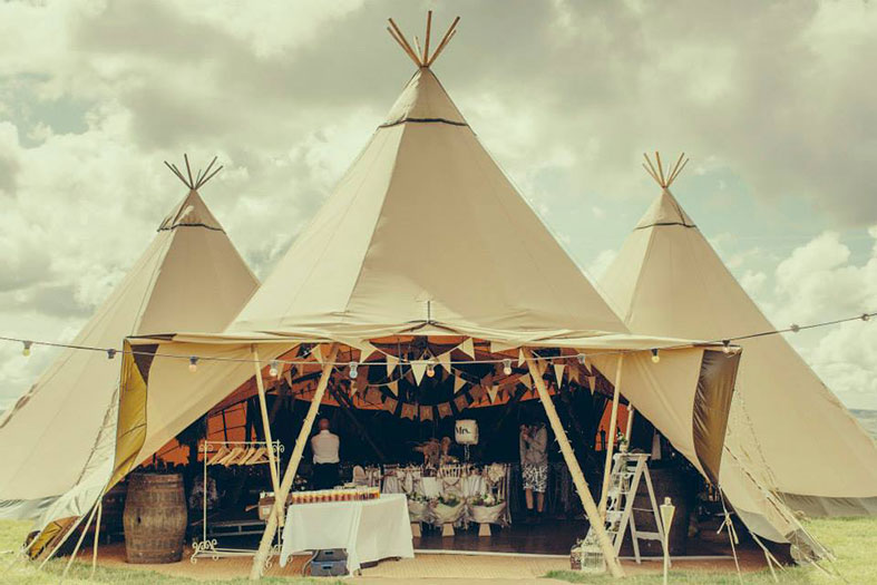 WEDDING TENTS: Take cover on your wedding day with 9 more stunning tent companies: PART 2