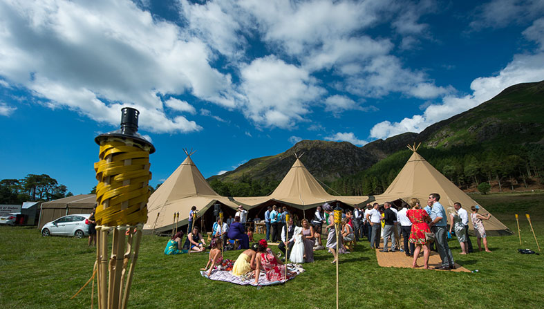 Super wedding structures from Special Event Tipis