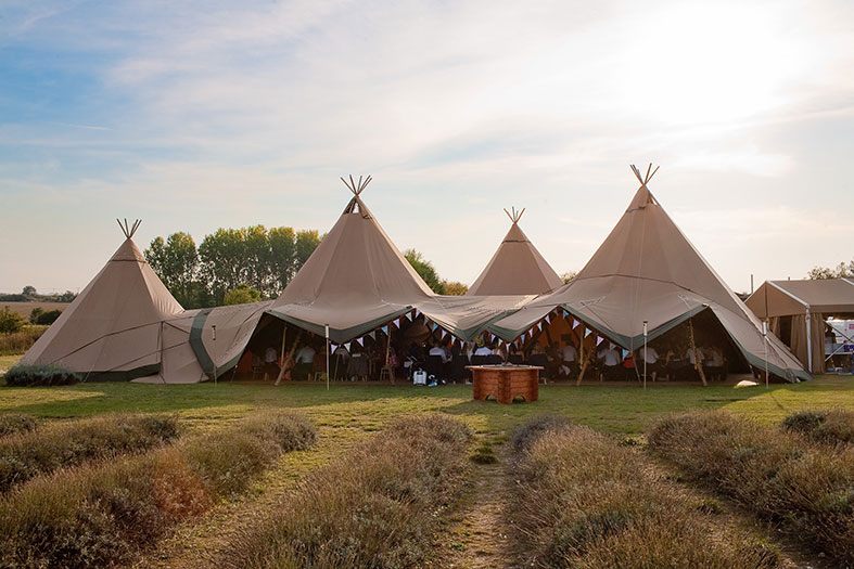 Tipis 4 Hire have lovely tent teepees for weddings