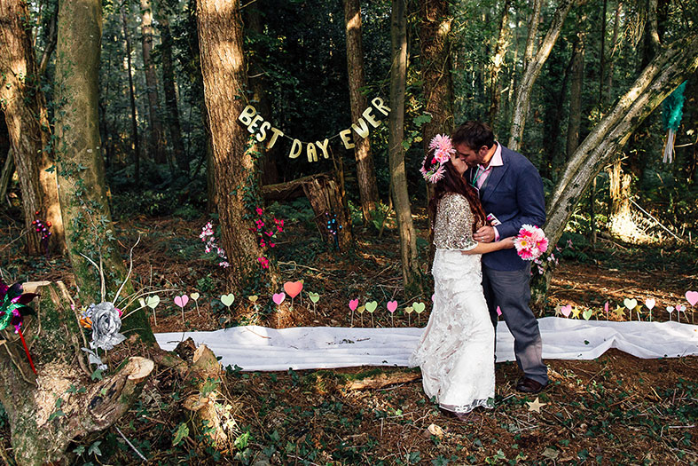 GREENUNIONS | A Woodland Wedding Weekend Full of Fun and Laughter in North Devon | Emma and Matt