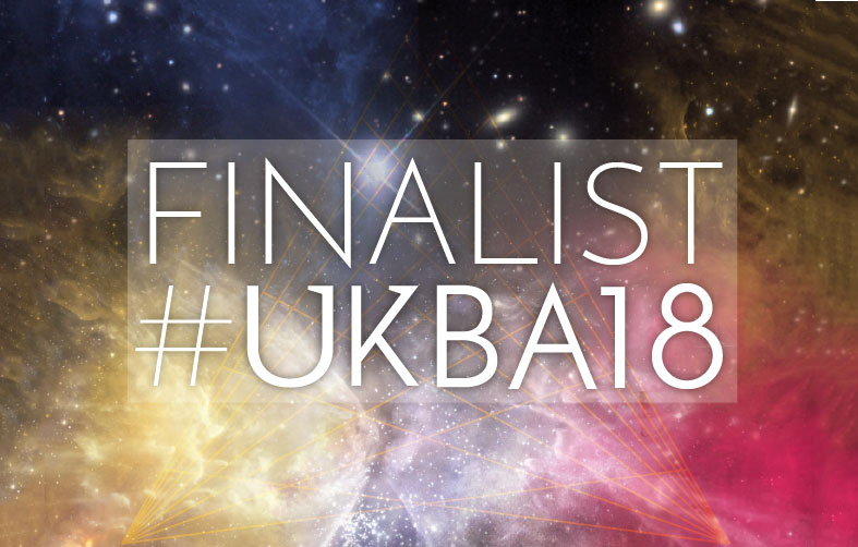 We are Finalists in the UK Blog Awards for 2018!