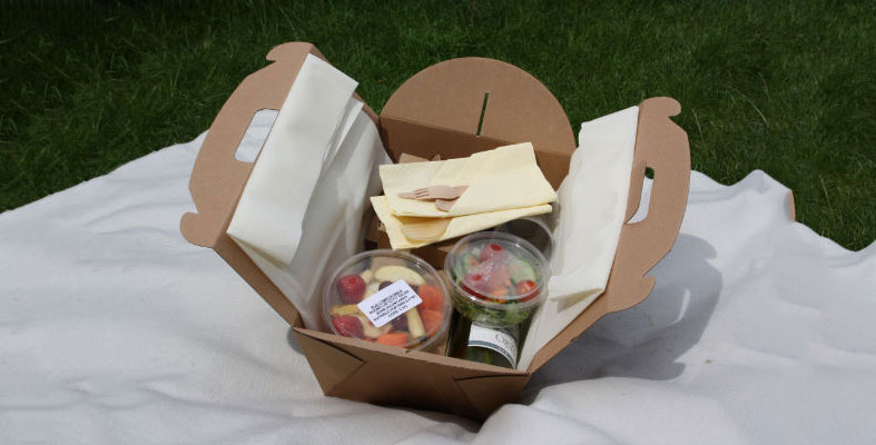 Fill you picnic hampers with delicious goodies and a bottle of champagne!