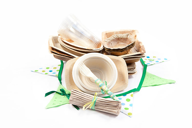 Disposable eco friendly cutlery and crockery makes the clean up easy!