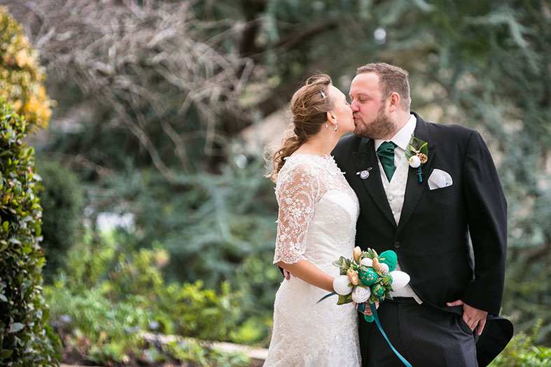 REAL WEDDINGS: A Hand Made Winter Wedding at the Longhouse in Somerset | Maxine and Adam