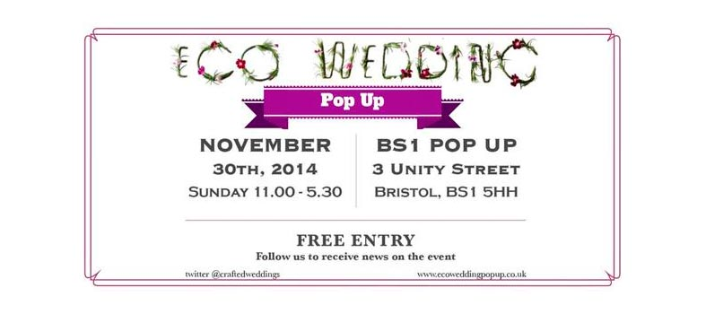 EVENT: Eco wedding pop up ...