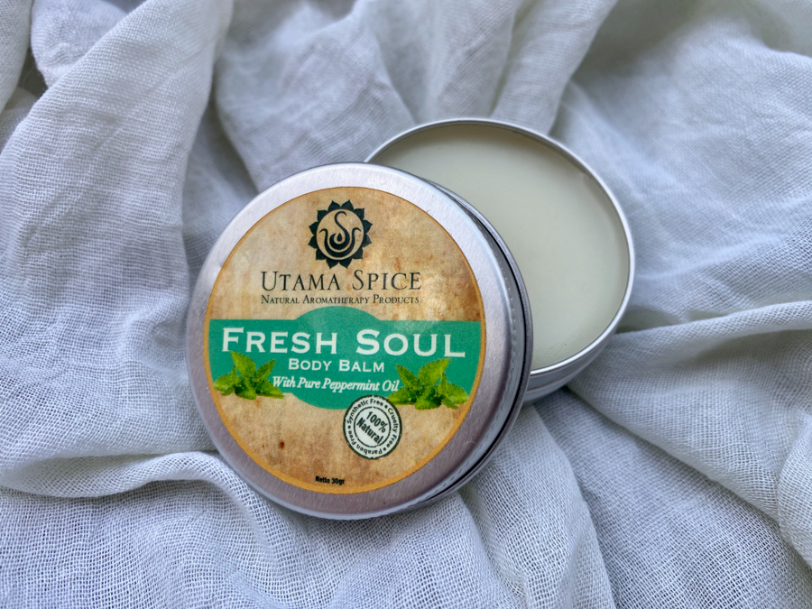 All-Natural And Sustainably Sourced Aromatherapy Products By Balinese Brand, Utama Spice - body balm