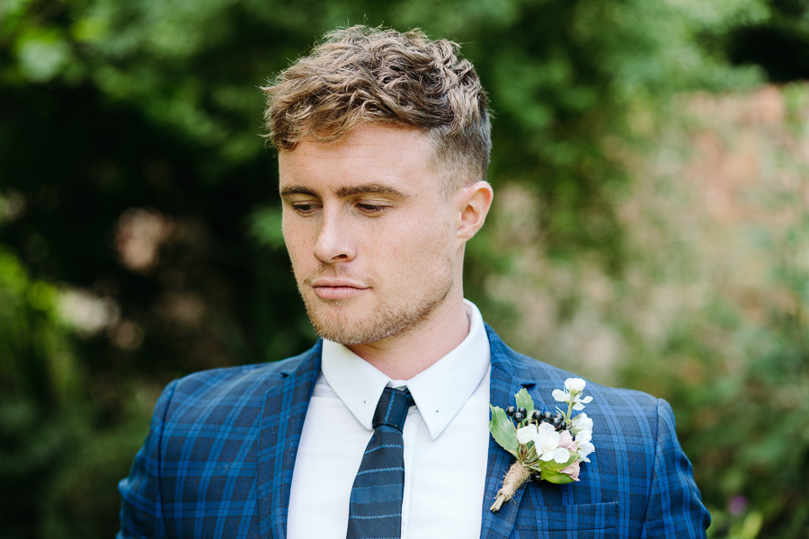 Groom style at The Little Dower House, captured by Alexis Jaworski