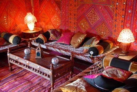 Stunning arabian wedding tents