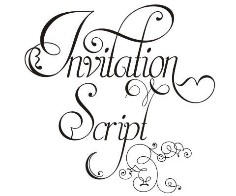 Beautiful New Wedding Invitation Font