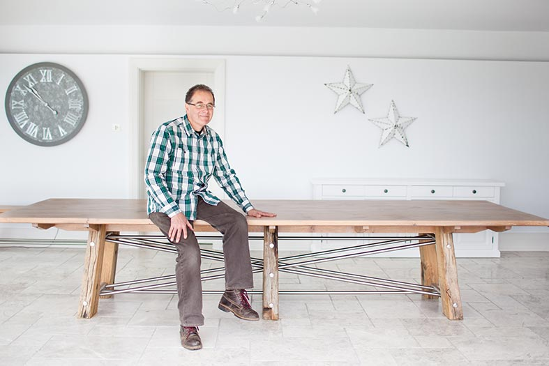 Commission a talented designer craftsman to make you an heirloom table